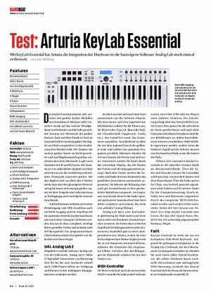 Beat Arturia Keylab Essential 49, 61