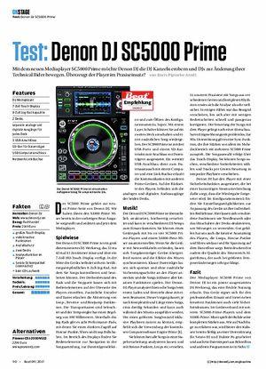 Beat Denon DJ SC5000 Prime