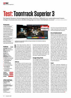 Beat Toontrack Superior Drummer 3