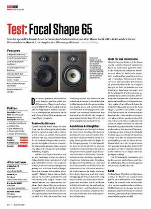 Beat Focal Shape 65