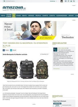 Amazona.de Magma Digi DJ-Backpack / DJ-Stashpack XL Plus