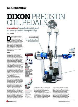 Rhythm Dixon Precision Coil Pedals