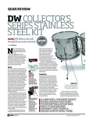 Rhythm DW Collector's Series Stainless Steel kit