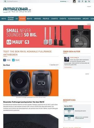Amazona.de the box RA10