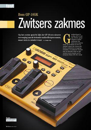 gitarist.nl Boss GP-10GK