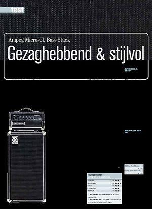 gitarist.nl Ampeg Micro-CL Bass Stack