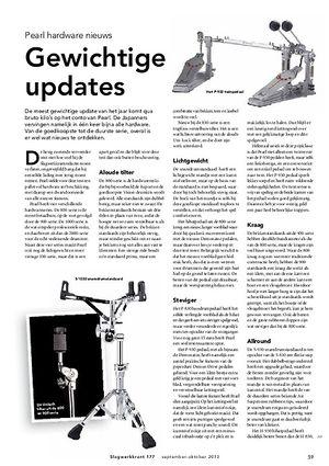 slagwerkkrant.nl Pearl hardware nieuws