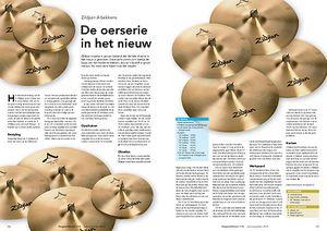 slagwerkkrant.nl Zildjian A bekkens