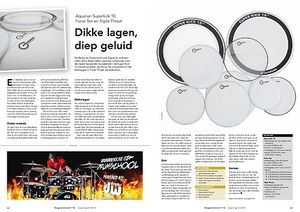 slagwerkkrant.nl Aquarian Superkick 10, Force Ten en Triple Threat