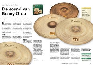 slagwerkkrant.nl Meinl Byzance Sand bekkens