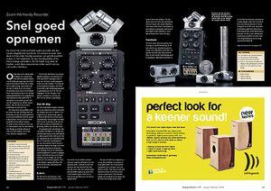 slagwerkkrant.nl Zoom H6 Handy Recorder