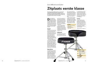 slagwerkkrant.nl Sonor 6000-serie drumkrukken