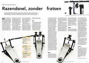 slagwerkkrant.nl PDP Concept Direct Drive pedalen