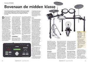 slagwerkkrant.nl Yamaha DTX582k e-drums
