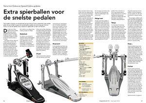 slagwerkkrant.nl Tama Iron Cobra en Speed Cobra updates