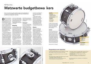 slagwerkkrant.nl PDP Black Wax
