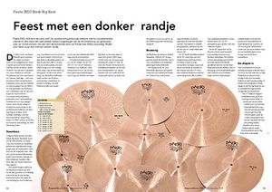 slagwerkkrant.nl Paiste 2002 Black Big Beat