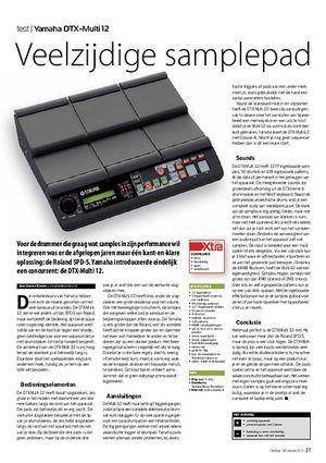 interface.nl Yamaha DTX-Multi 12