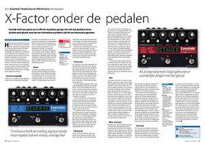 interface.nl Eventide TimeFactor en PitchFactor effectpedalen