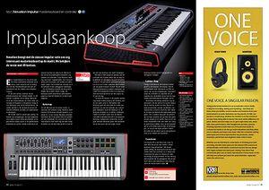 interface.nl Novation Impulse masterkeyboard en controller