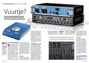 interface.nl RME FireFace UCX interface met remote