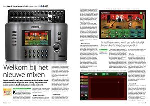 interface.nl Line 6 StageScape M20d digitale mixer