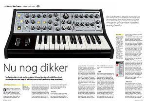 interface.nl Moog Sub Phatty analoge synthesizer