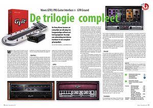 interface.nl Waves GTR3, PRS Guitar Interface en GTR Ground