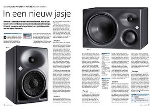 interface.nl Neumann KH 120 A en KH 310 A actieve monitors