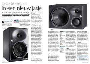 interface.nl Neumann KH 120 A en KH 310 A actieve monitors