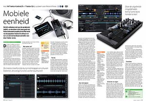 interface.nl NI Traktor Kontrol Z1 en Traktor DJ dj-systeem voor iPad en iPhone