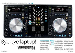 interface.nl Pioneer XDJ-R1 dj-controller/mixer/mediaspeler/ audio-interface