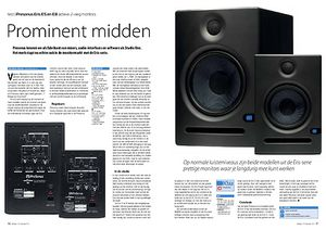 interface.nl Presonus Eris E5 en E8 actieve 2-weg monitors