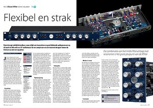 interface.nl Elysia Xfilter stereo equalizer