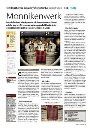 interface.nl Best Service Eduardo Tarilonte Cantus zanginstrument