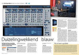 interface.nl Rob Papen Blue II virtuele cross-fusion synthesizer