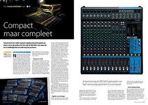 interface.nl Yamaha MG16XU mixer