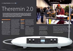 interface.nl Moog Theremini synthesizer
