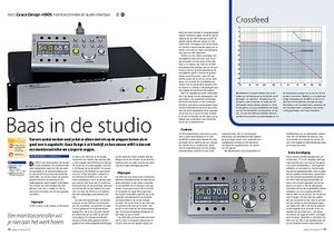 interface.nl Grace Design m905 monitorcontroller en audio-interface