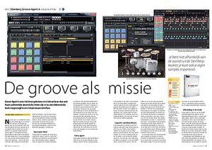 interface.nl Steinberg Groove Agent 4 virtual drummer