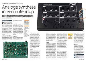 interface.nl Moog Music Werkstatt-01 zelfbouwsynth