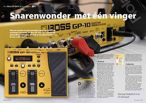 interface.nl Boss GP-10GK gitaarsynthesizer