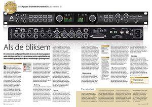 interface.nl Apogee Ensemble thunderbolt2 audio-interface