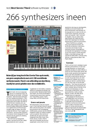 interface.nl Best Service Titan2 software synthesizer