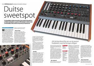 interface.nl MFB Dominion 1 analoge keyboardsynthesizer