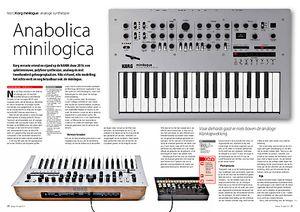 interface.nl Korg minilogue analoge synthesizer