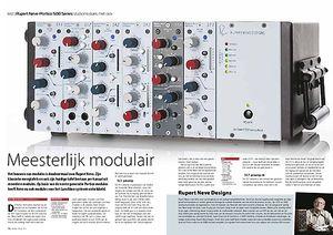 interface.nl Rupert Neve Portico 500 Series studiomodules met rack