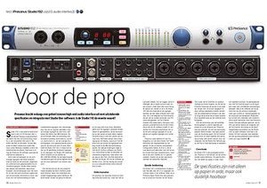 interface.nl Presonus Studio 192 usb3.0-audio-interface