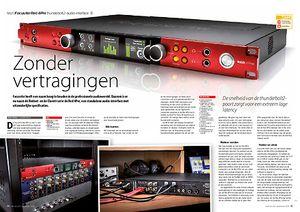 interface.nl Focusrite Red 4Pre thunderbolt2-audio-interface