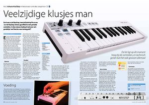 interface.nl Arturia KeyStep minikeyboard-controller/sequencer